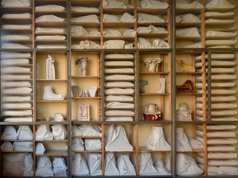 Inside the cast studio, Horta Museum. Copyright Bastin & Evrard