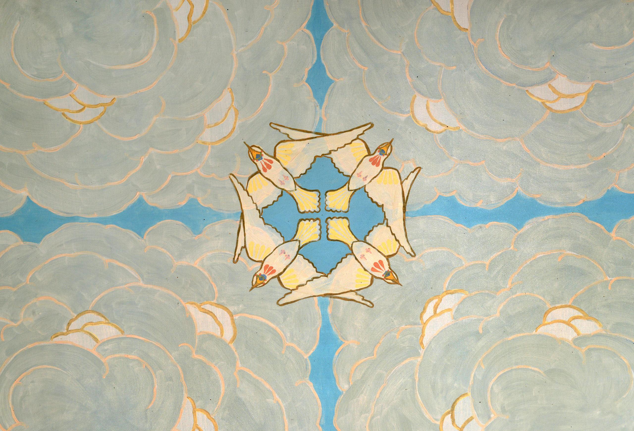 Salon Bleu, La Chaux-de-Fonds ©Ville de La Chaux-de-Fonds, A. Henchoz