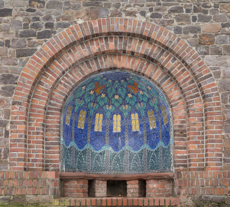 Mosaic Niche in Darmstadt, ©InstitutMathildenhöhe